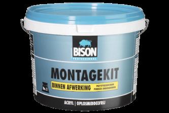 BISON MONTAGEKIT BINNEN AFWERKING 5 KG, EMMER