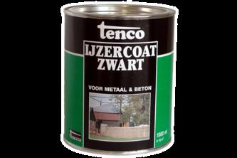 Tenco IJzercoat Zwart 1 LTR, ZWART, BUS