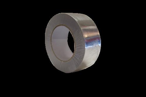 Aluminiumtape 30µ 50mm x 50m, aluminium