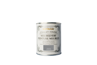 RUST-OLEUM CHALKY FINISH MEUBELVERF 750 ML, ANTRACIET