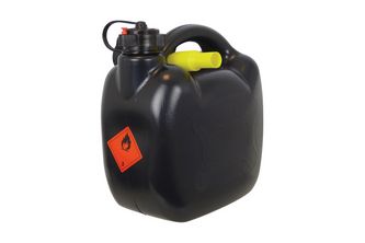 Benzinekan 5Ltr 420gram Zwart