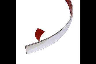 Decoratie Strip Chroom 22mm 2mtr