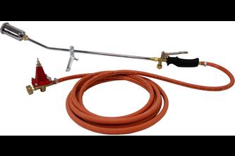 Dakbranderset- en 10 Meter slang en regelaar 10 meter