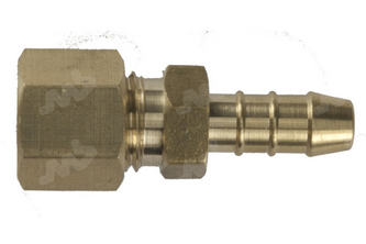 Slangpilaar/Knelkoppeling 8 mm, 8 mm