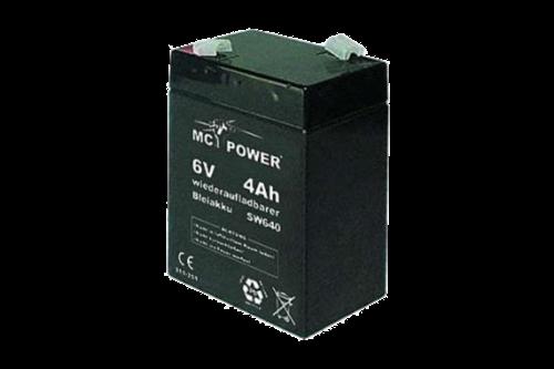 Hq 6v accu 6 volt / 3.9 a