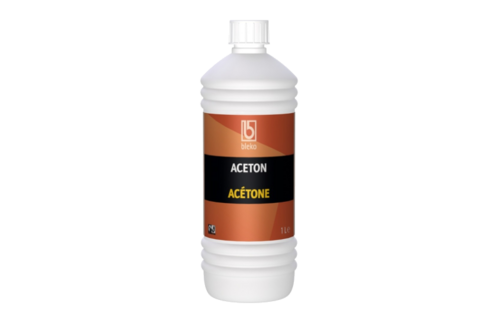 Aceton 1 ltr, fles