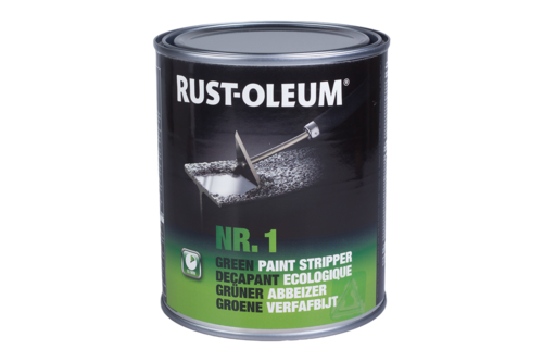 Rust-oleum groene verfafbijt 0,75 l, groen, blik