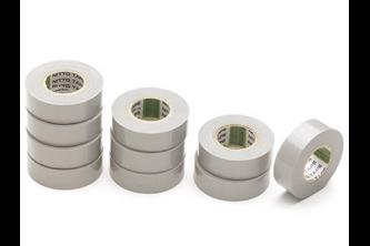 NITTO TAPES Nitto Isolatietape 1 rol tape, 19MM x 10M, GRIJS