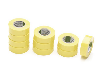 NITTO TAPES Nitto Isolatietape 1 rol tape, 19MM x 10M, GEEL