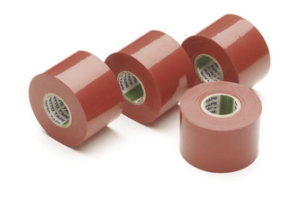 NITTO TAPES Nitto Isolatietape 1 rol tape, 50MM x 20M, ROOD