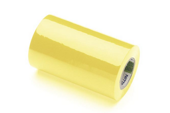 NITTO TAPES Nitto Isolatietape 1 rol tape, 100MM x 10M, GEEL