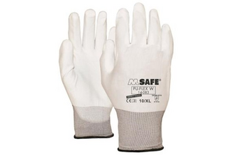 M-Safe PU-Flex Wit 14-083 handschoen  , M