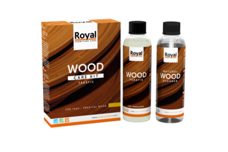 Royal Furniture Care Oranje Furniture Care Teakfix Wood Care Kit + Cleaner