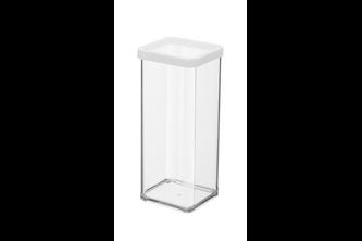 Rotho bewaardoos vierkant 1,5 l loft wit