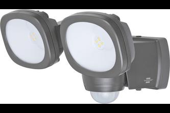 Brennenstuhl Batterij LED Straler LUFOS 420met infrarood-bewegingsmelder IP44 2x200lm
