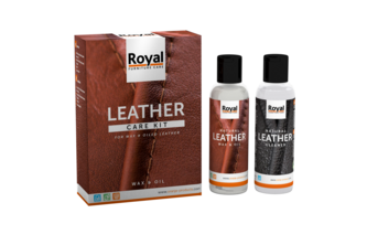 Oranje Furniture Care Leather Care Kit Wax & Oil 150ml