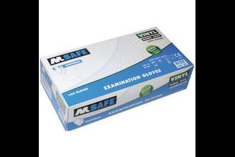 M-Safe 4060 disposable vinyl handschoen 100 STUKS, MIDDLE