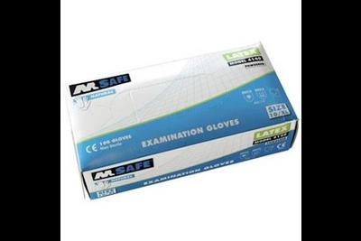 M-Safe 4140 disposable latex handschoen 100 stuks
