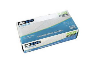 M-Safe 4215 disposable latex handschoen 100 stuks