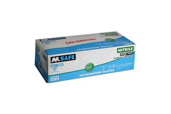 M-Safe 4530 disposable nitril handschoen 100 stuks