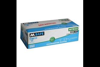 M-Safe 4530 disposable nitril handschoen 100 stuks 9/L