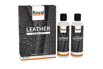 Oranje Furniture Care Leather Care Kit - Clean & Protect 2 x 150 ML