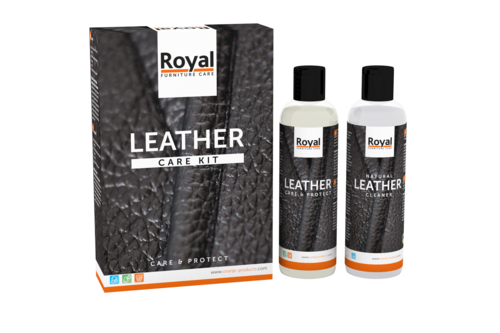 Oranje furniture care leather care kit - clean & protect 2 x 250 ml