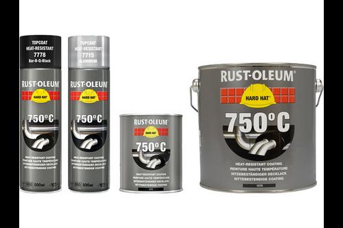 Rust-oleum hittebestendige coating 750 ml, zwart, blik