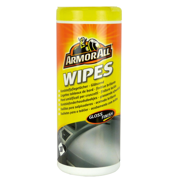 Afbeelding van Armor all gloss dashboard wipes 30p
