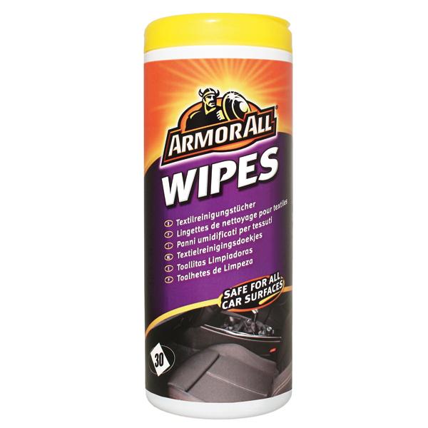 Afbeelding van Armor all carpet seat wipes 30pcs