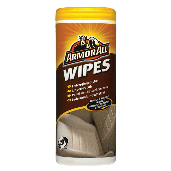 Afbeelding van Armor all leather wipes 24pcs