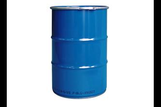 200 liter metalen vat met klemdeksel