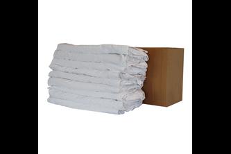 PRIMP Witte poetslappen 25 stuks 50x50cm