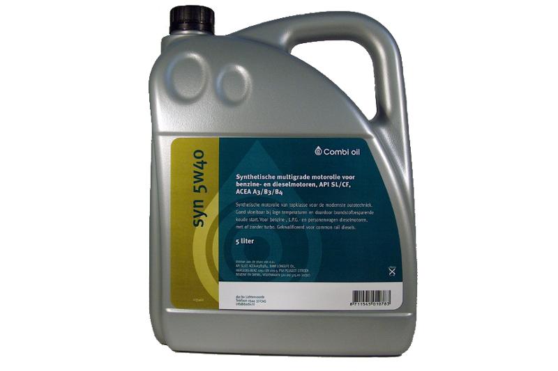 Afbeelding van combi olie oil full synthetic 5w40 5 l, can