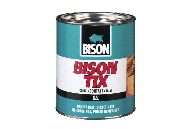 Afbeelding van Bison 1305375 Tix Contactlijm Gel Blik 750ml