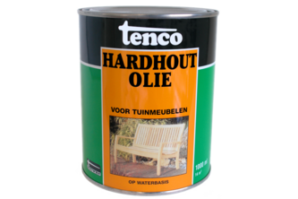 Tenco Hardhoutolie 1 L, NATUREL, BUS