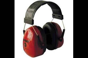 M-Safe gehoorkap Sonora 2 hoofdbevestiging  , Rood, -