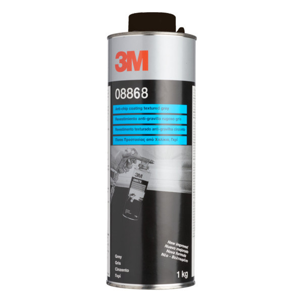 Afbeelding van 3m anti steenslag coating zwart 1 kg