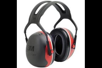 3M Peltor X3A gehoorkap met hoofdband