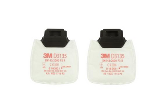 3M Secure Click D3135 stoffilter P3 R