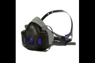 3M Secure Click HF-800 herbruikbaar halfgelaatsmasker M, HF-802SD