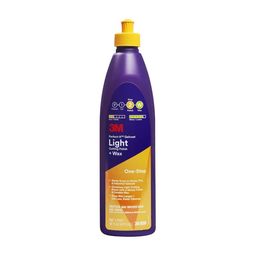 Afbeelding van 3m perfect it gelcoat light cutting polish waxen 946 ml