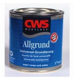 Afbeelding van Cws wertlack allgrund grondverf hoogglans alkyd 2,5 l, grijs