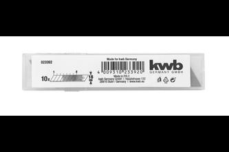 kwb 10 Reserveafbreekmesjes, 18 mm, in display 18 mm