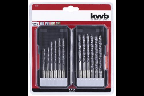 Kwb houtborenbox, 12-dlg., s-box