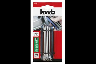 kwb Torx-sleutelset, 7-delig