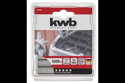Kwb 1200nieten 10mm rvs   053/c zb