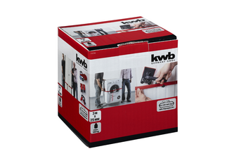KWB Kraftixx kwb Draaghulpset met 2 softedraaggrepen en 3 m spanband