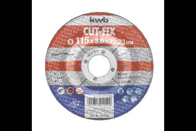 kwb Doorslijpschijven, metaalbewerking Cut Fix®