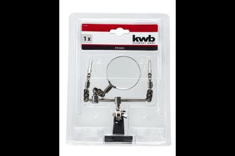 KWB Kraftixx kwb Derde handje met vergrootglas en klemmen
